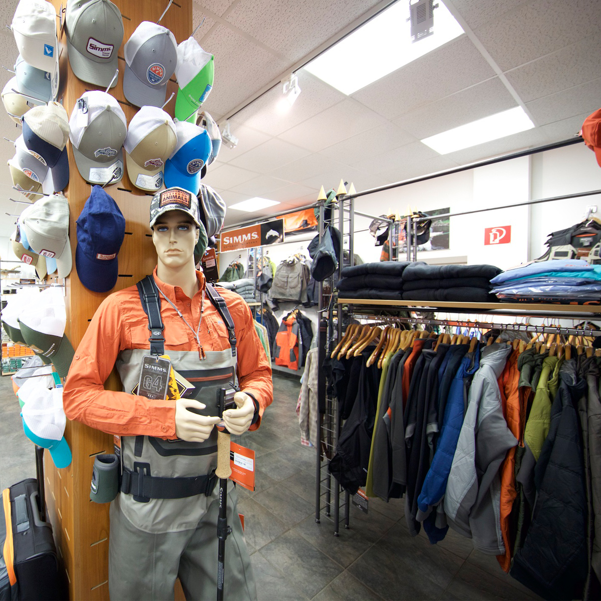 Watbekleidung im Shop