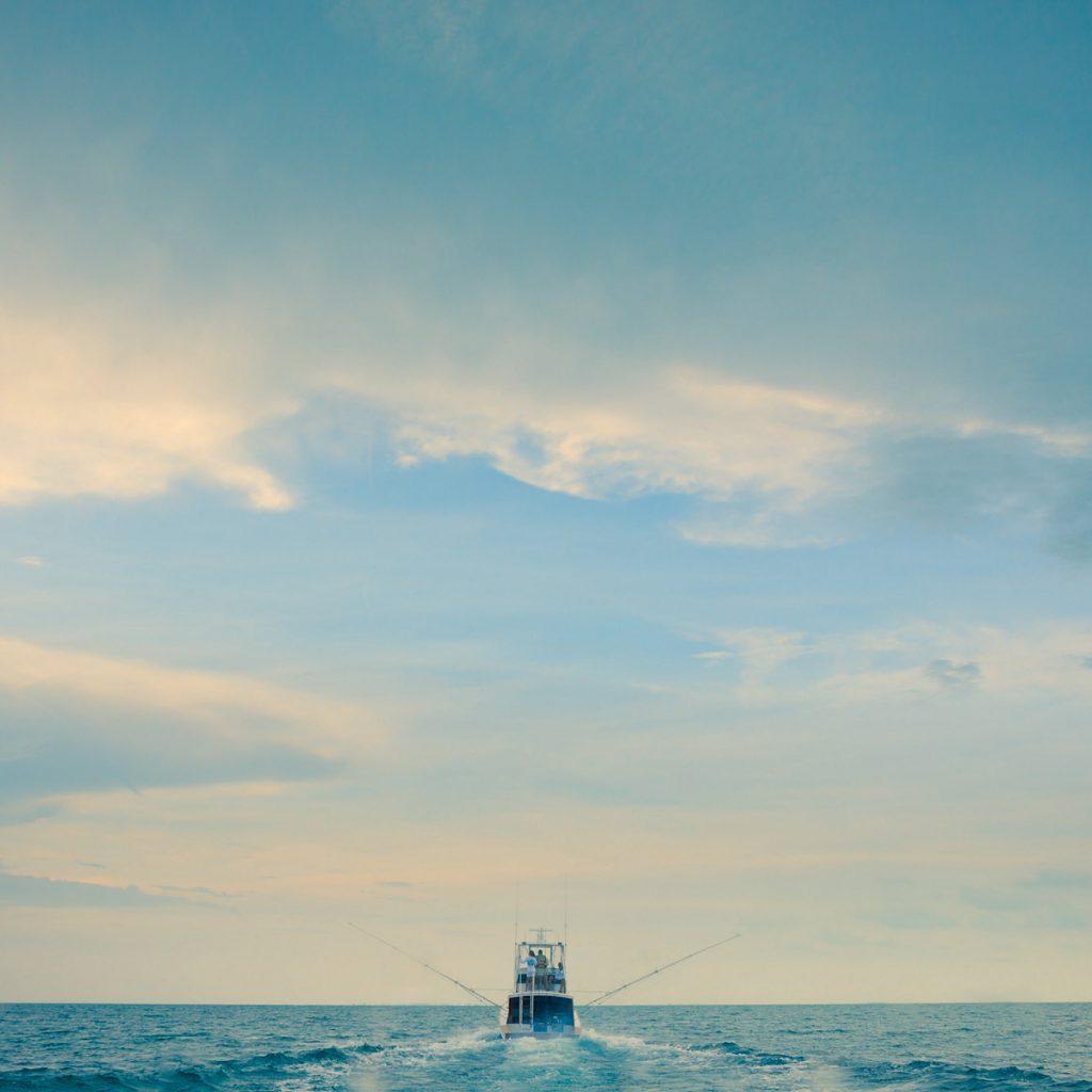 Ausfahrt zum Fliegenfischen