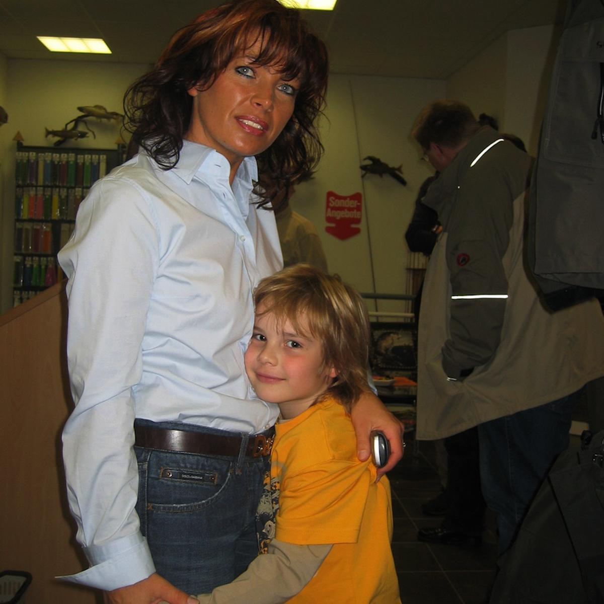 Mirjana Pavlic und Ihr Sohn Thorben
