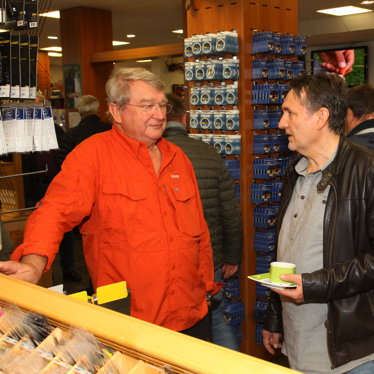 Bernd Hemsing und Peter Joest