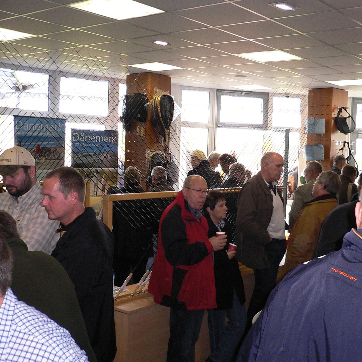 Große Fliegenbinde-Show bei Flyfishing europe