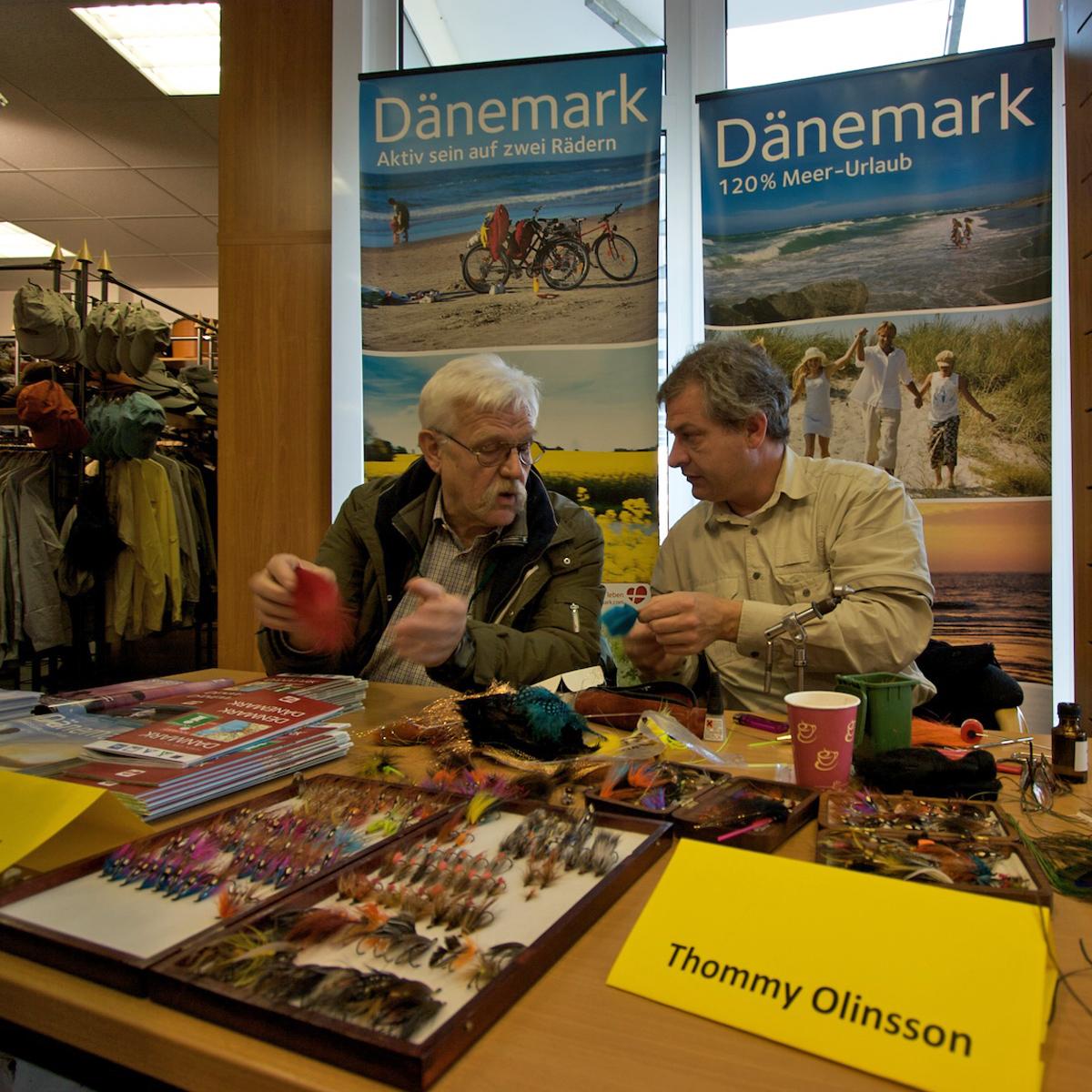Gerd-Peter Wieditz und Tommy Olinsson