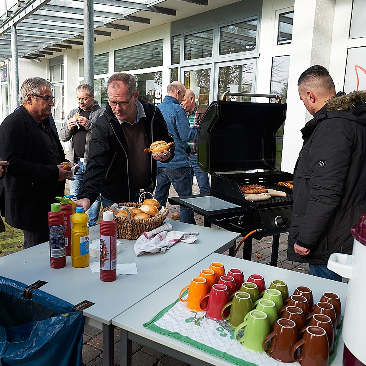 Essen auf der Hausmesse bei Flyfishing Europe