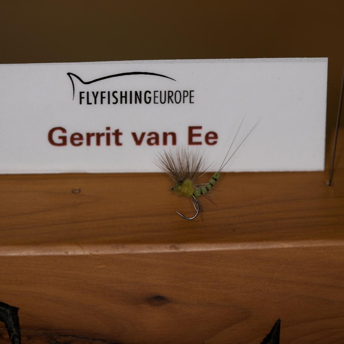 Trockenfliege von Gerrit van Ee