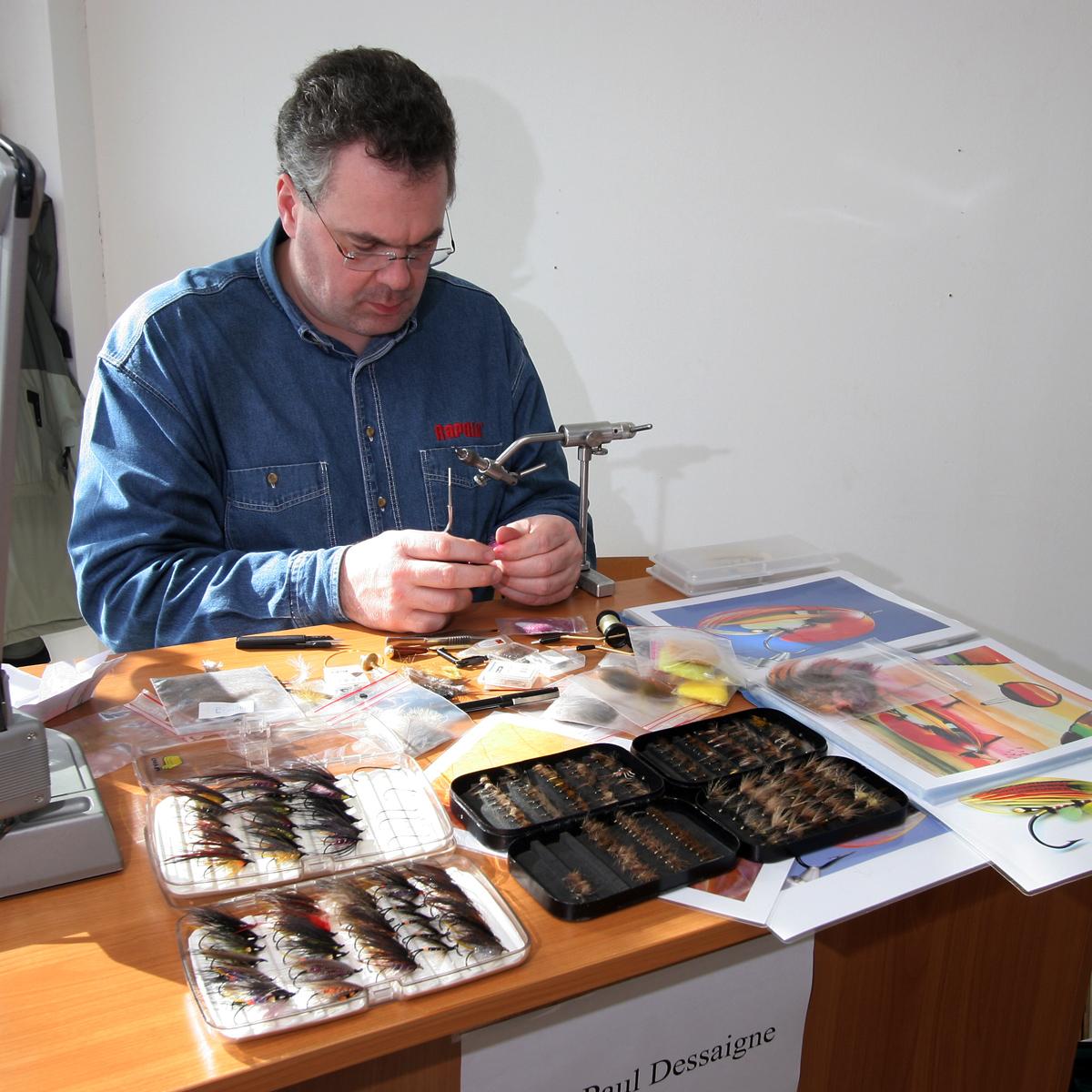 Fliegenbinder Jean-Paul Dessaigne