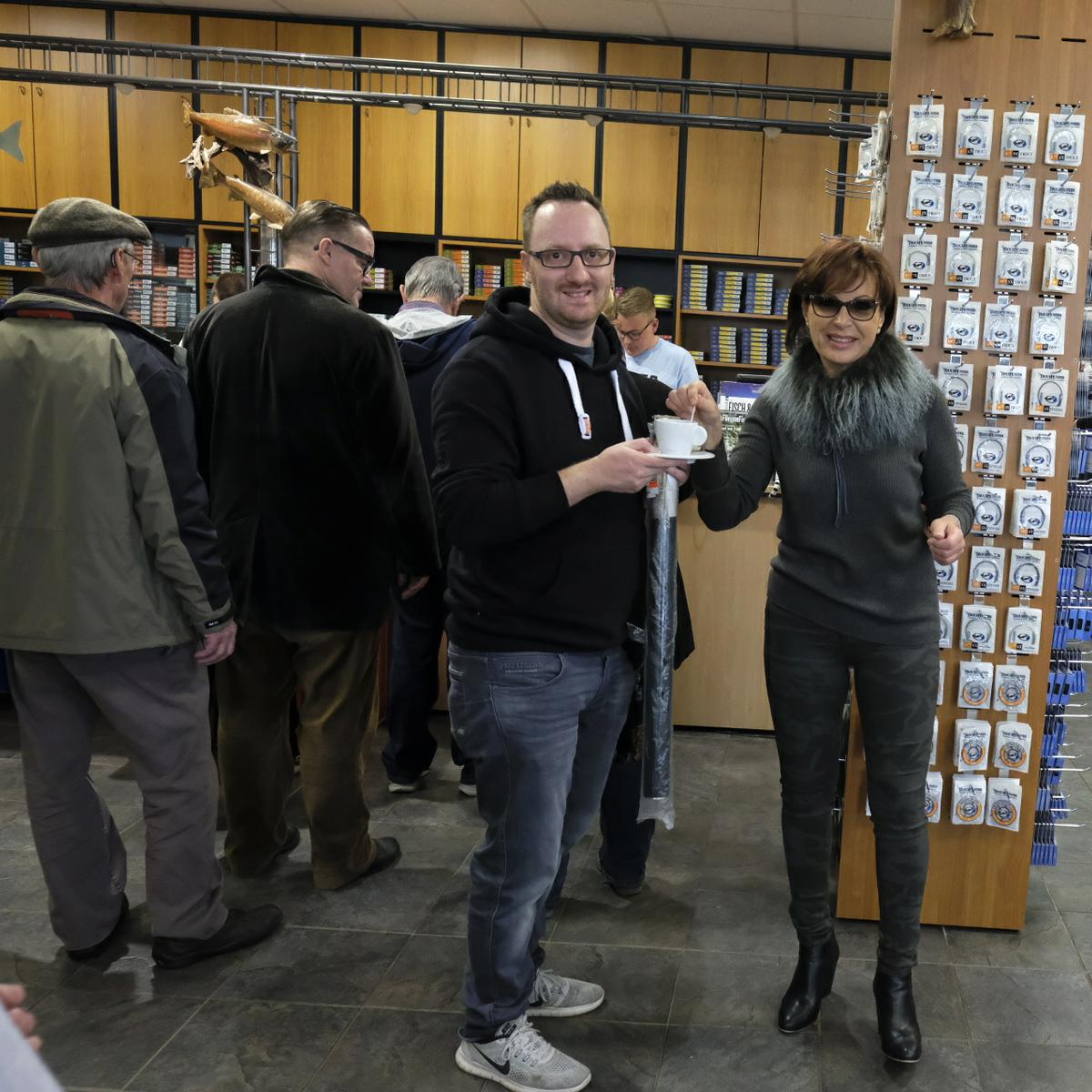 Mirjana Pavlic mit Kunden