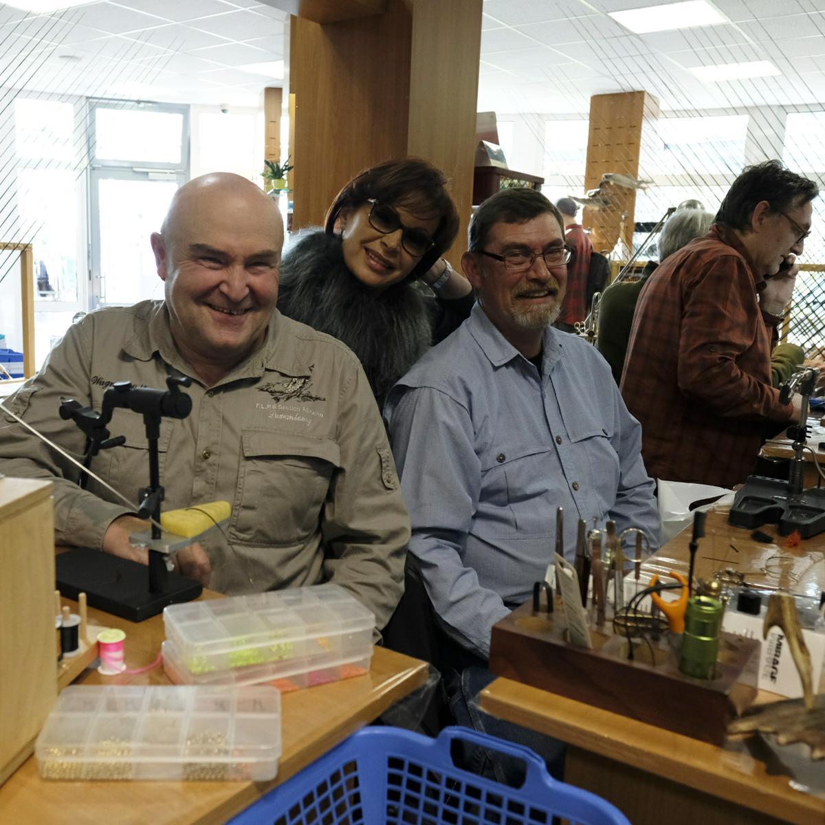 Mirjana Pavlic mit Wolfgang Wagner und Don Schrot