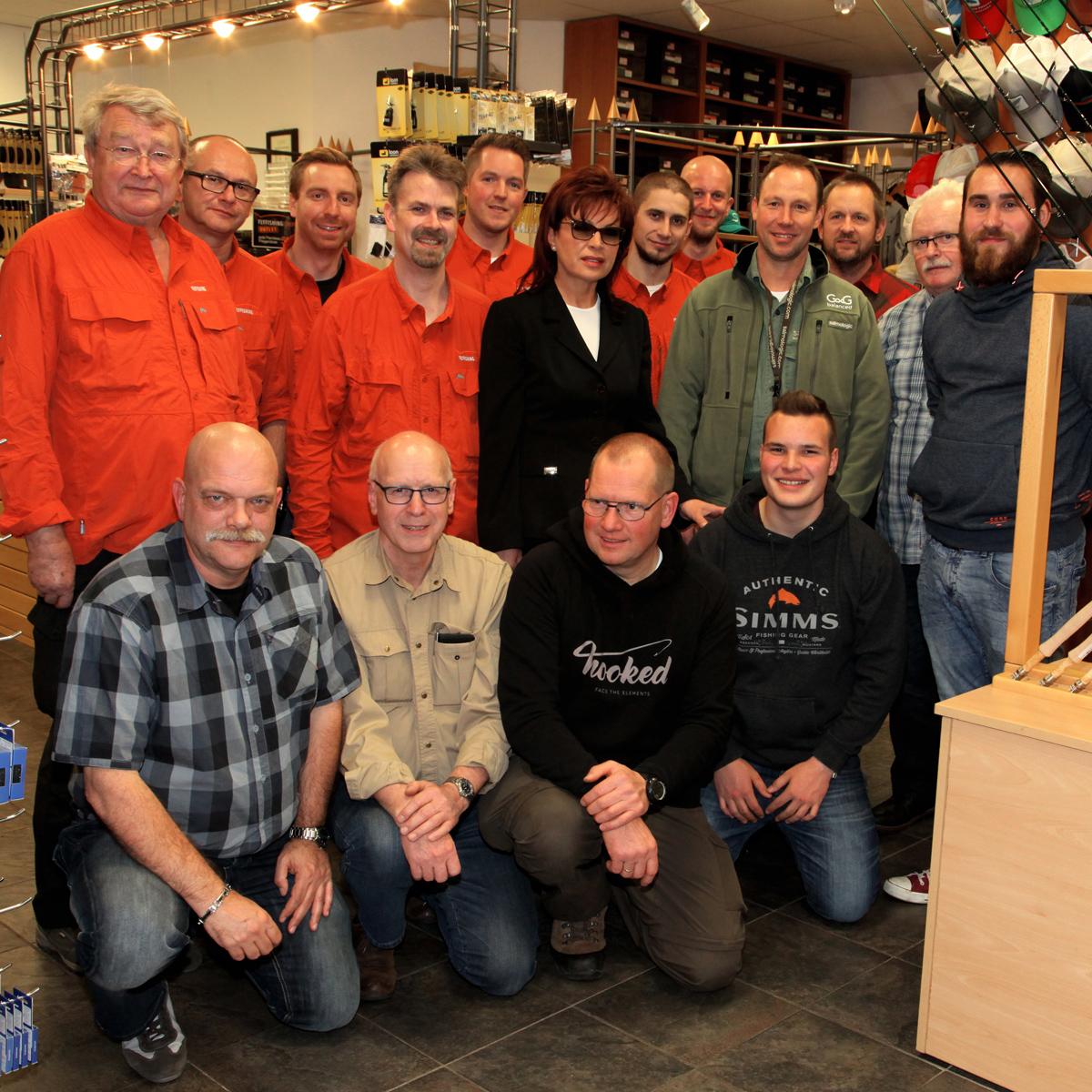 Das Team von Flyfishing Europe
