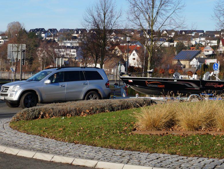 Mit dem Boot angeln am Möhnesee