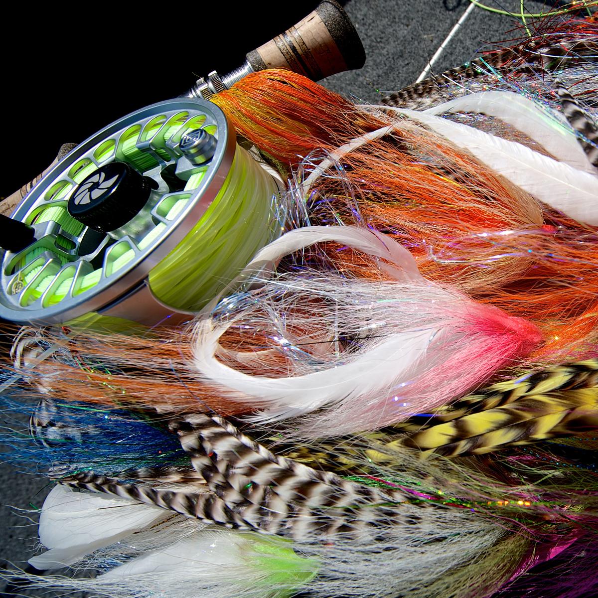 Streamer zu Fliegenfischen auf Hecht am Möhnesee
