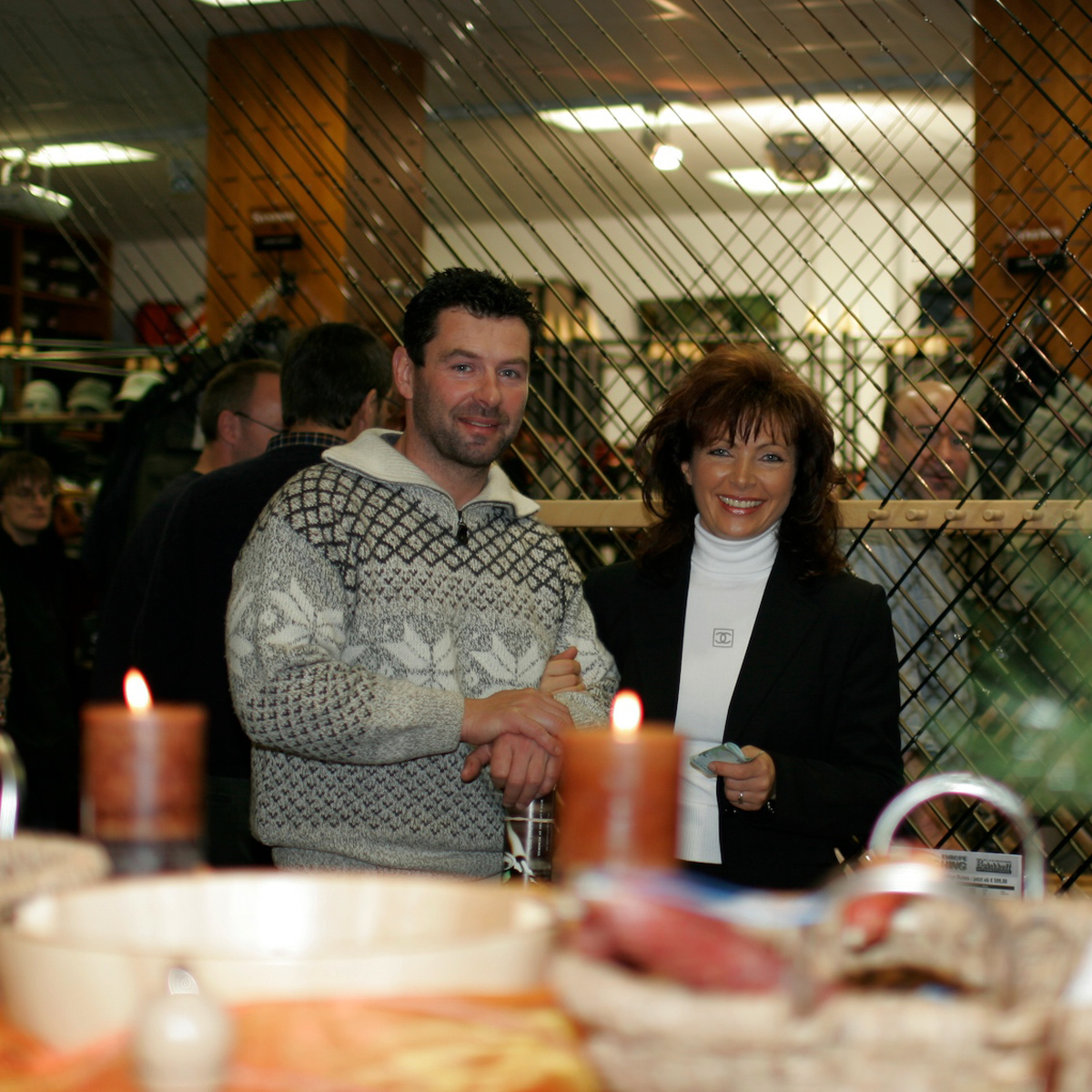 Mirjana Pavlic und Andreas