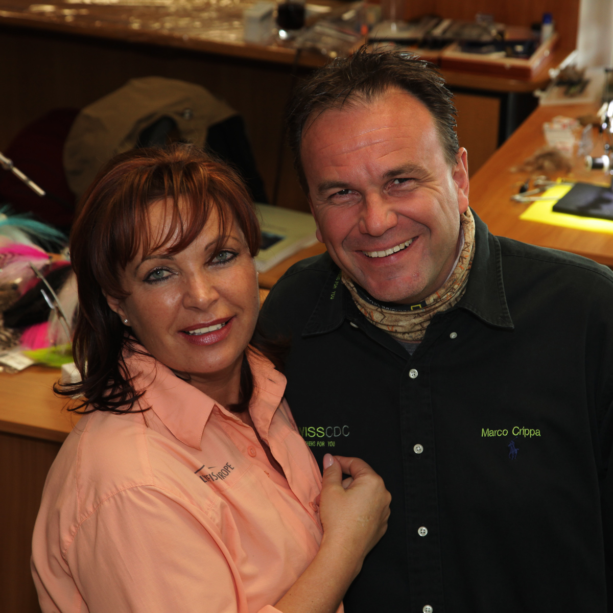 Mirjana Pavlic und Marco Crippa von Swiss CDC