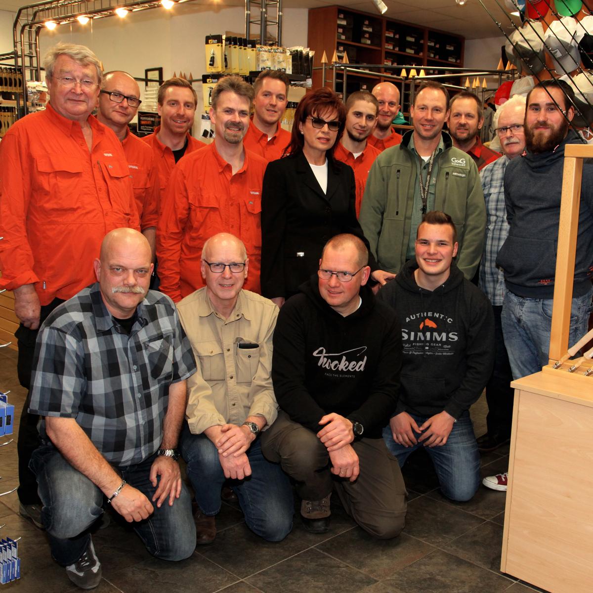 Team von der Hausmesse bei Flyfishing Europe