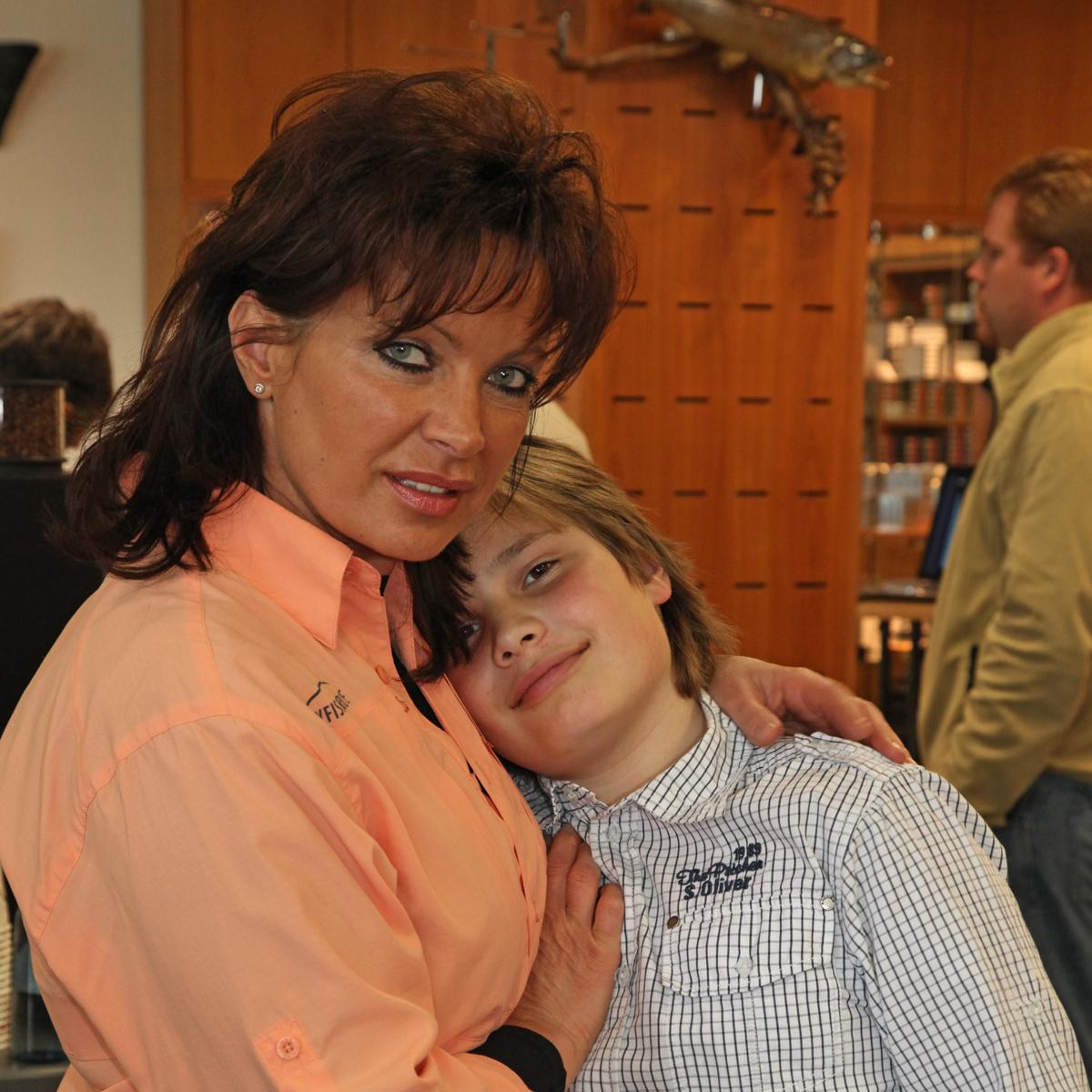 Mirjana Pavlic mit Sohn Torben