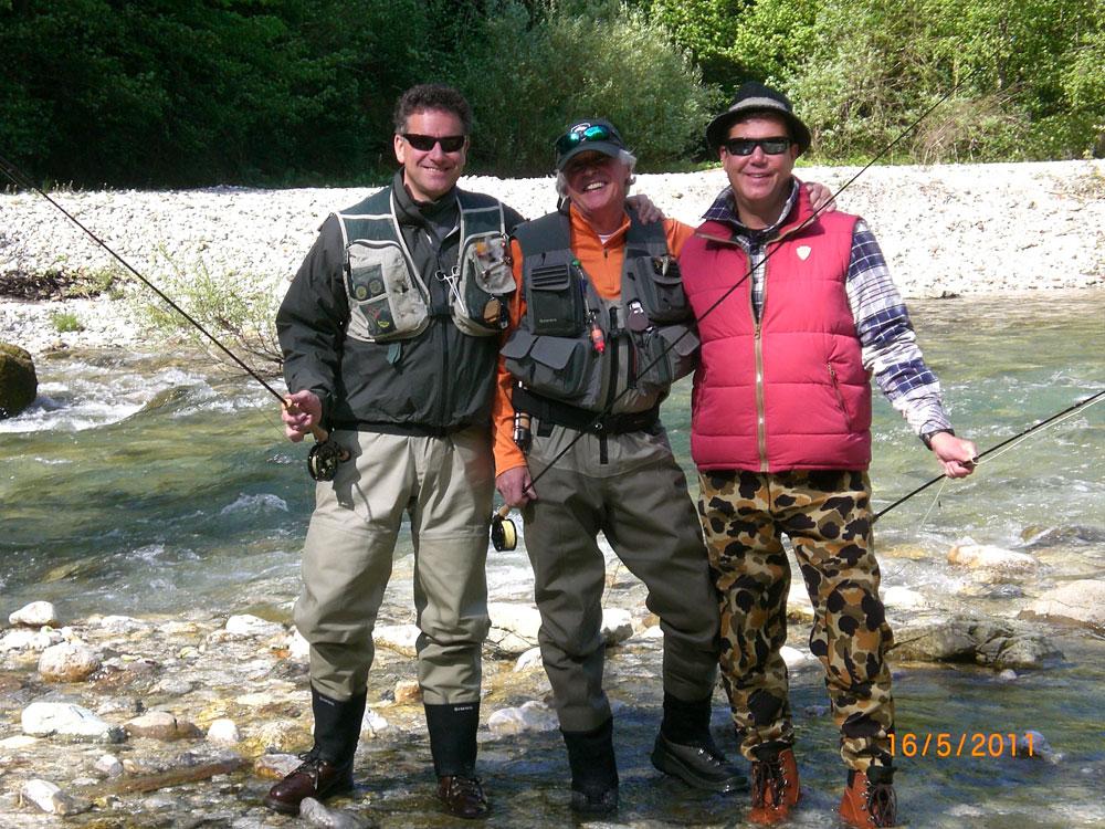 Fliegenfischer-Urlaub in Slowenien