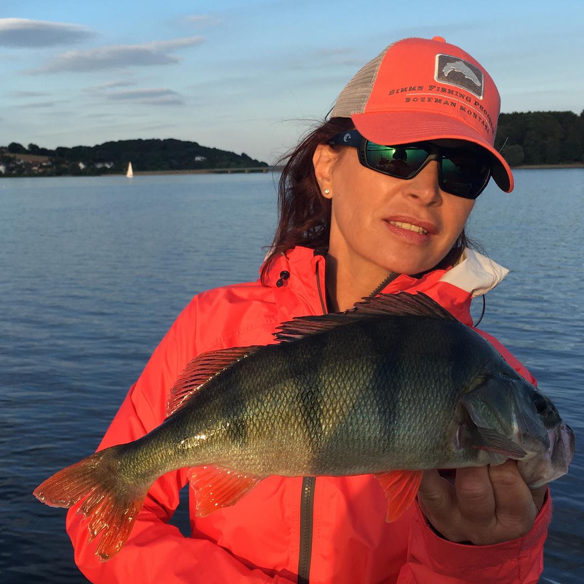 Barsch angeln am Möhnesee