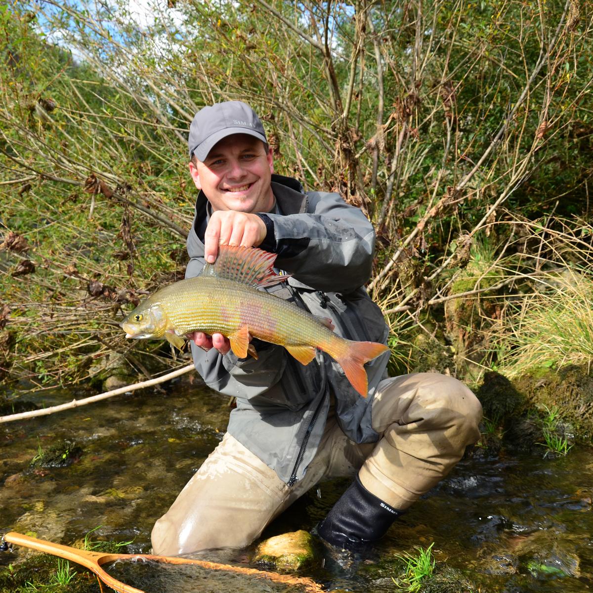 Fliegenfischen auf Äsche in Sowenien