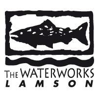 The Waterworks Lamson Fliegenrollen Logo