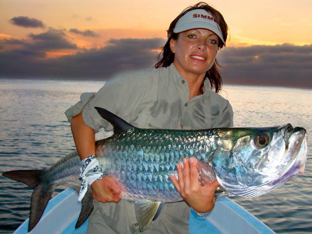 Fliegenfischen auf Tarpon in Belize