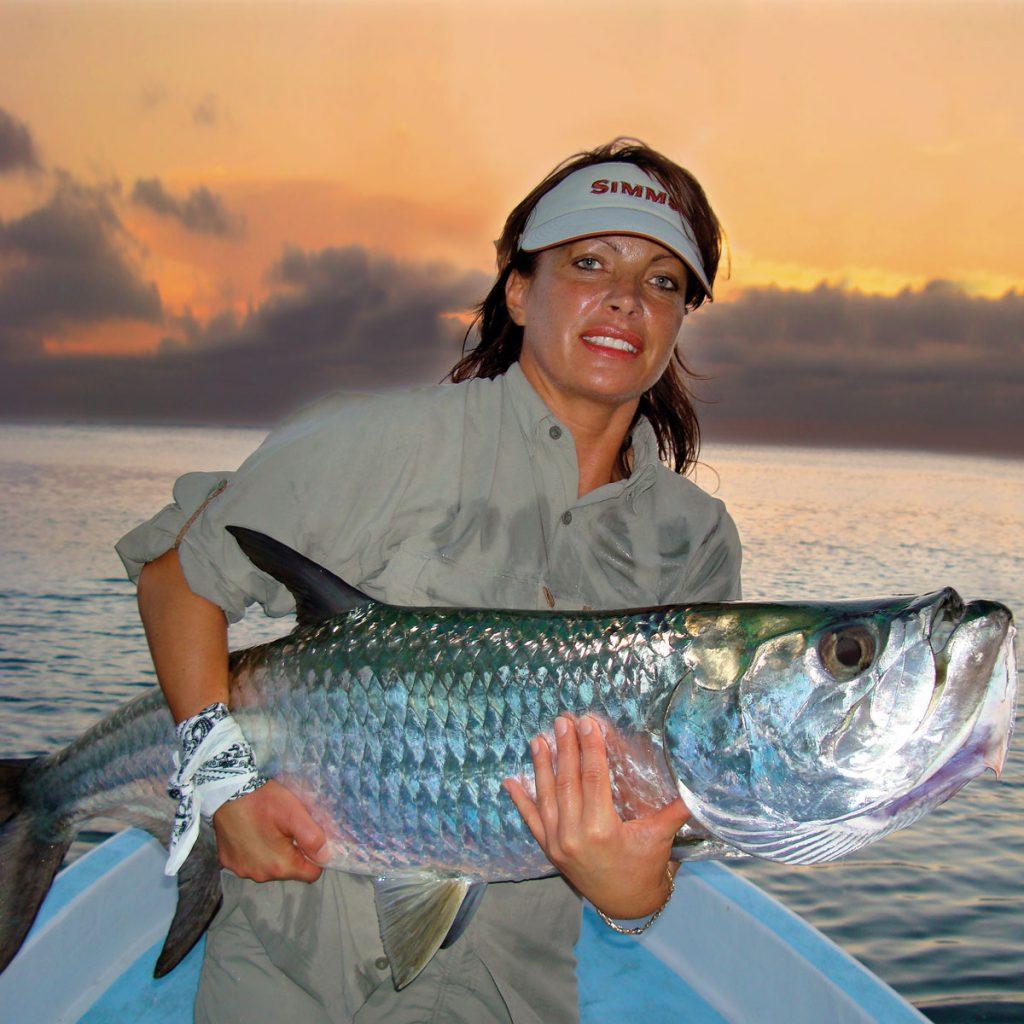 Fliegenfischen auf Tarpon auf Belize